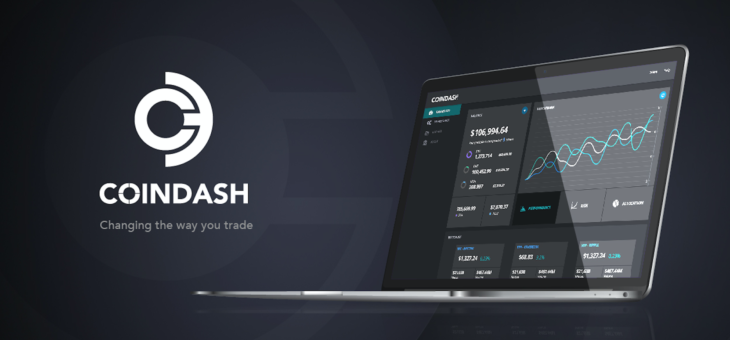 CoinDash- world's first social portfolio management platform.