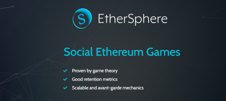Ethersphere – Social Ethereum Based Games