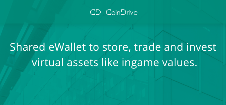 CoinDrive.xyz – Shared wallet for gamers & traders