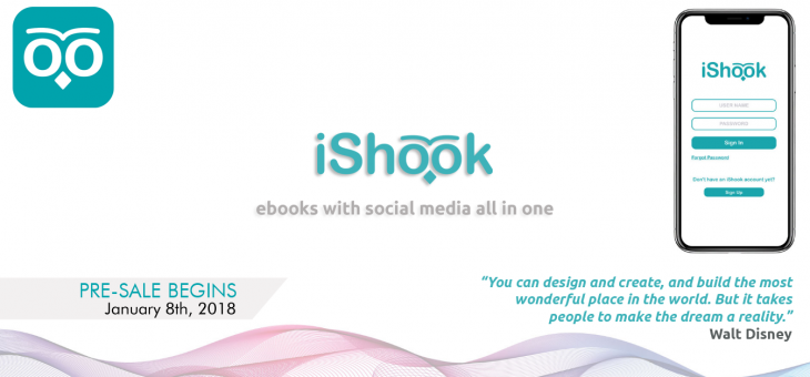 Ishook – eBooks with Social Media all in One