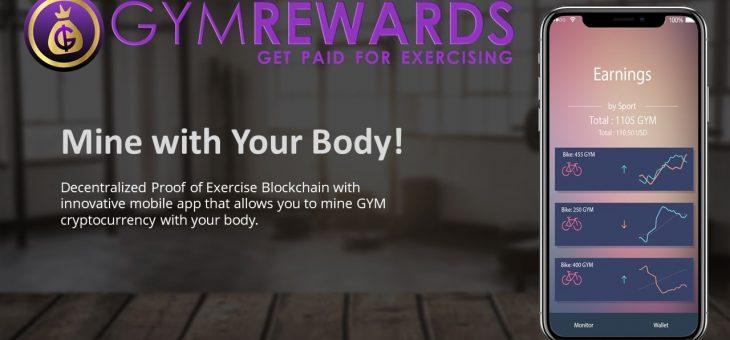 GymReward- Get Paid for Exercising